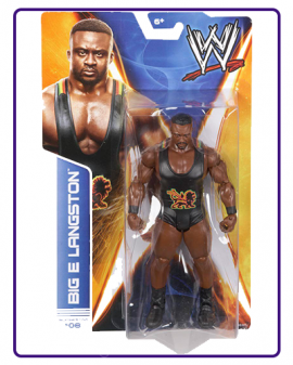 MÔ HÌNH WWE BIG E LANGSTON -SERIES 36