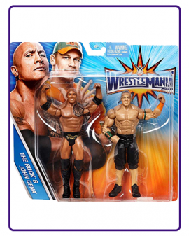 MÔ HÌNH WWE THE ROCK & JOHN CENA